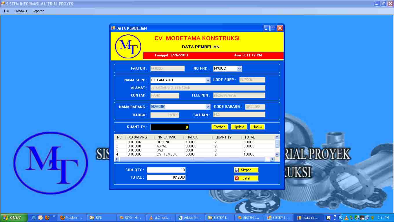 Contoh Form Laporan Gudang Forex Typo